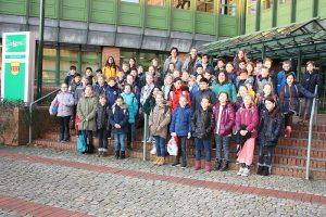 Hilgenberg-Grundschule aus Stadtlohn erkundeten das Borkener Kreishaus